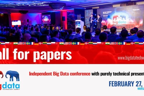 You can become a speaker at Big Data Tech Warsaw!